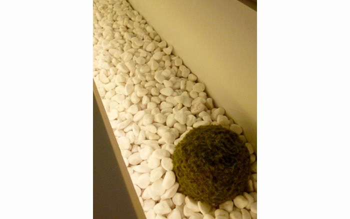 白玉石のライトボックス