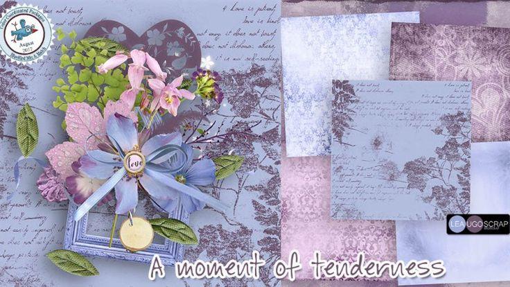 A Moment of Tenderness - Blue Bird Mix & Match by LeaUgoScrap