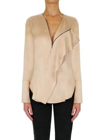 Wanted Zip Top in Desert Rose