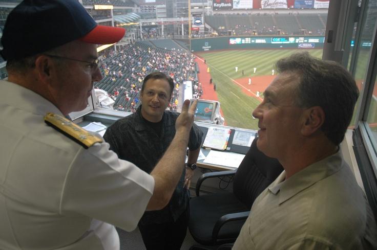 Tom Hamilton, Cleveland Indians radio announcer