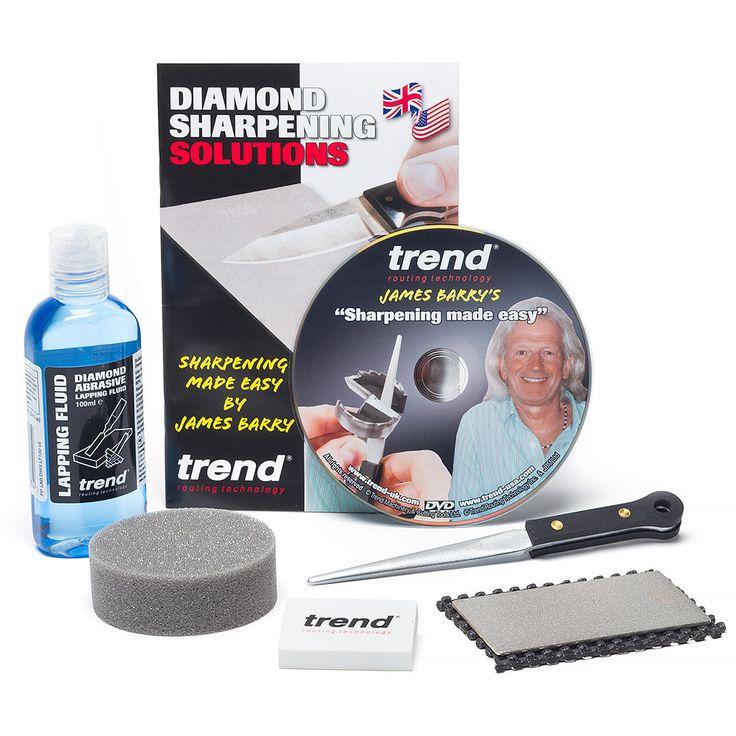 Trend Complete Sharpening Kit Sharpen Your Woodturning