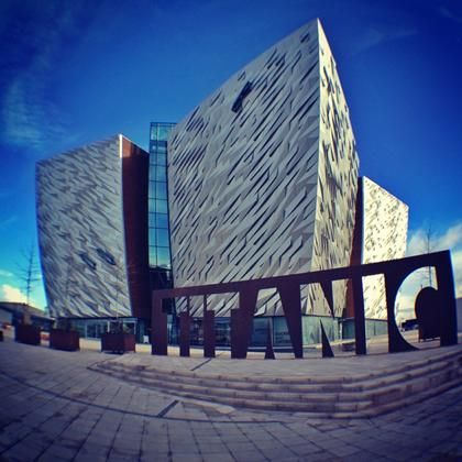"Titanic in Belfast (Ireland) Well worth the trip if your in Belfast....my girls loved it..and take the "" Black Taxi Tour"" very informative!!! Can't wait to visit Northern Ireland again...."