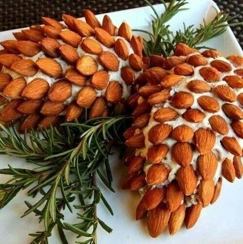 Pinecone Cheese ball