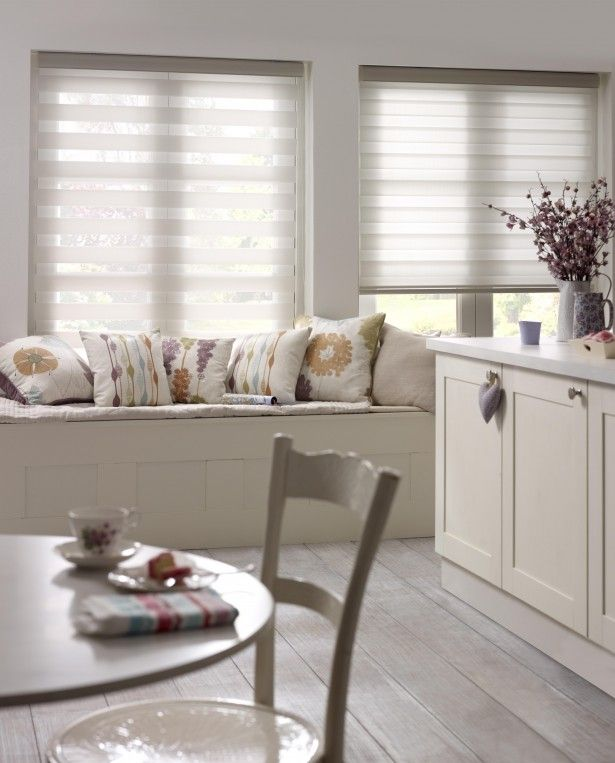 Enjoy vision blinds roller blinds with a twist twists roller blinds and rollers - Modern window treatments for kitchen ...