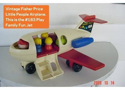 Fisher Price Airplane.