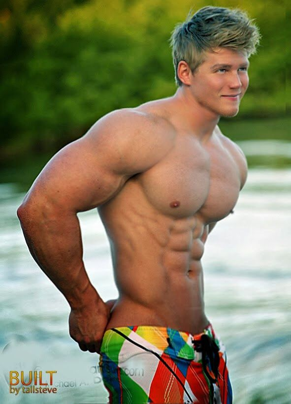 young muscular guy