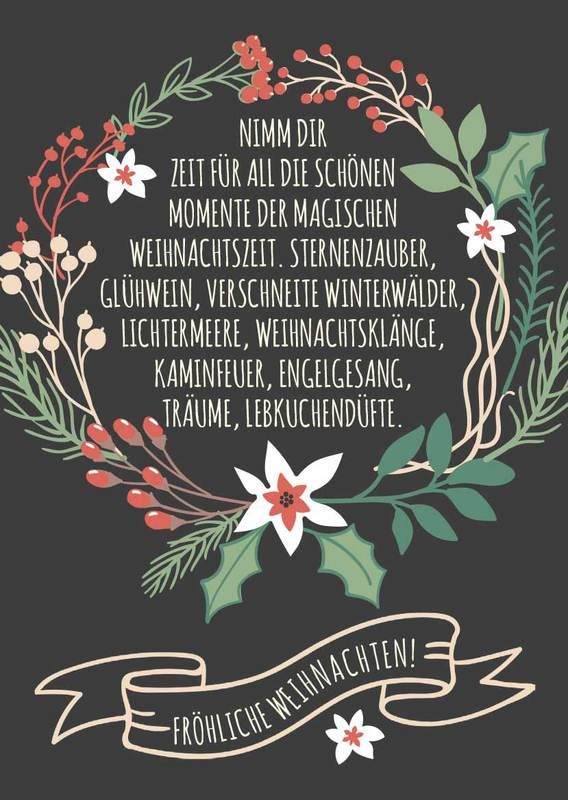 Weihnachtsgrüße » Sprüche zu Weihnachten downloaden