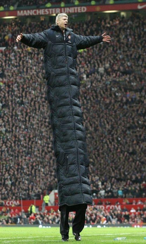 Football joke, Arsene Wenger.