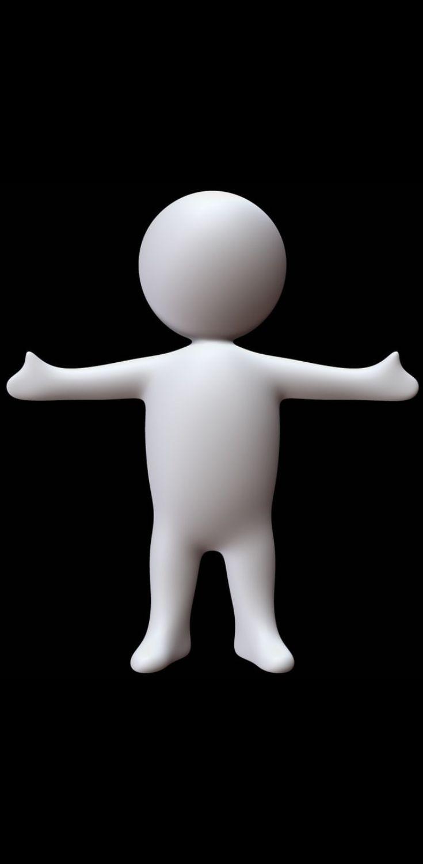 Dummy 3D model |mannequin|dummy|slim|man|form|designer|doll