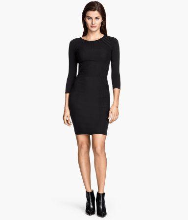 H&M Pattern-knit dress $49.95