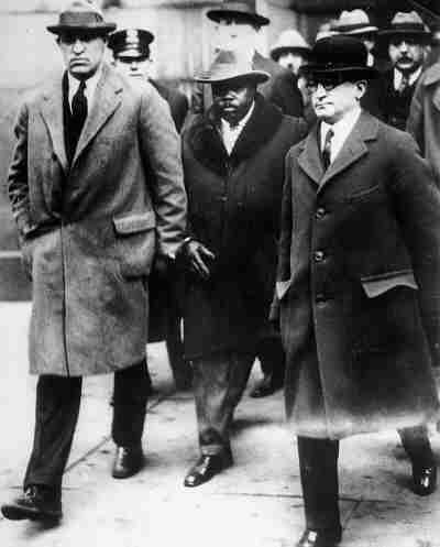 L'arrestation de Marcus Garvey
