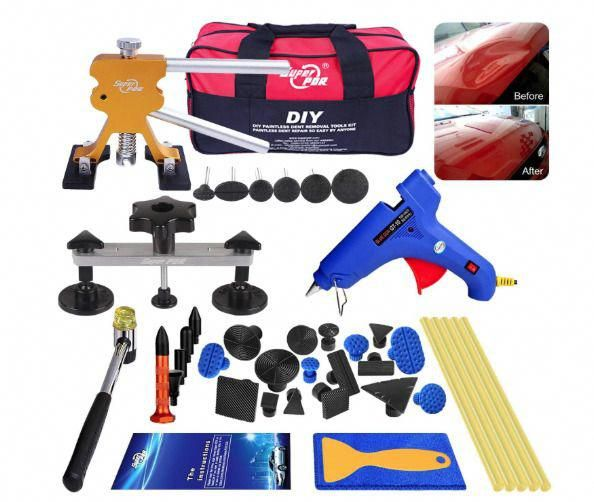 DIY Paintless Dent Removal Tool Kit Automobile Scratch
