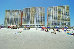 Baywatch Resort - Small pets are allowed in some condos at Baywatch Resort from Oct-Mar. Please ask about availability. Myrtle Beach Vacation Rentals.