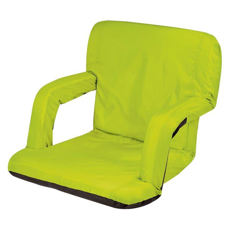 Picnic Time Ventura Portable Stadium Seat - Lime (Green) (10.0 Lb)
