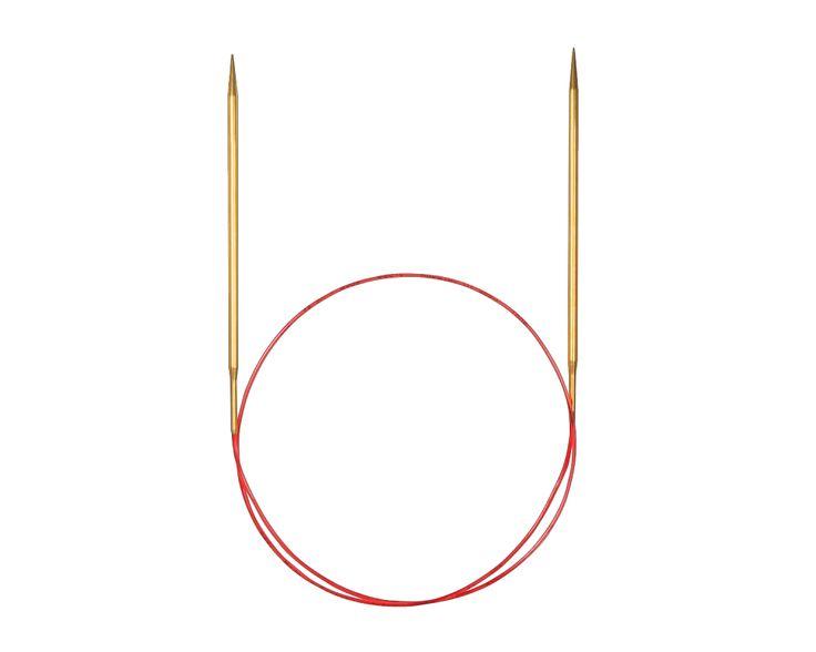 Addi Lace fém körkötőtű csipkekötéshez vékony (2-3,5 mm) - Addi Lace fém körkötőtűk csipkekötéshez