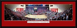Indiana Basketball Assembly Hall Panoramic Picture framed print
