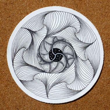 Mandala + Zentangle = Zendala awesomeness