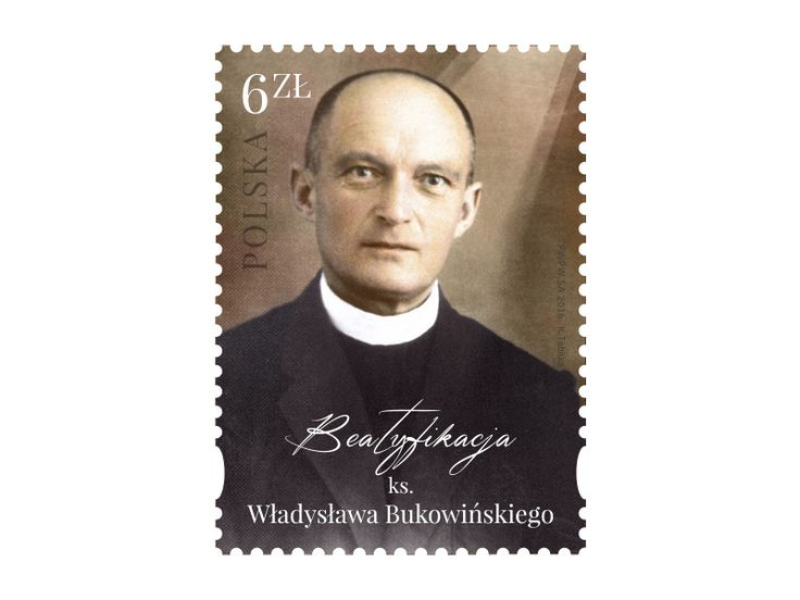 COLLECTORZPEDIA Beatification of priest Władysław Bukowiński