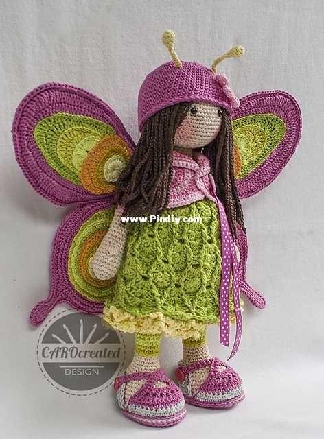 CAROcreated Design - Carola Herbst - Doll Merit - Spanish-Knitting ...