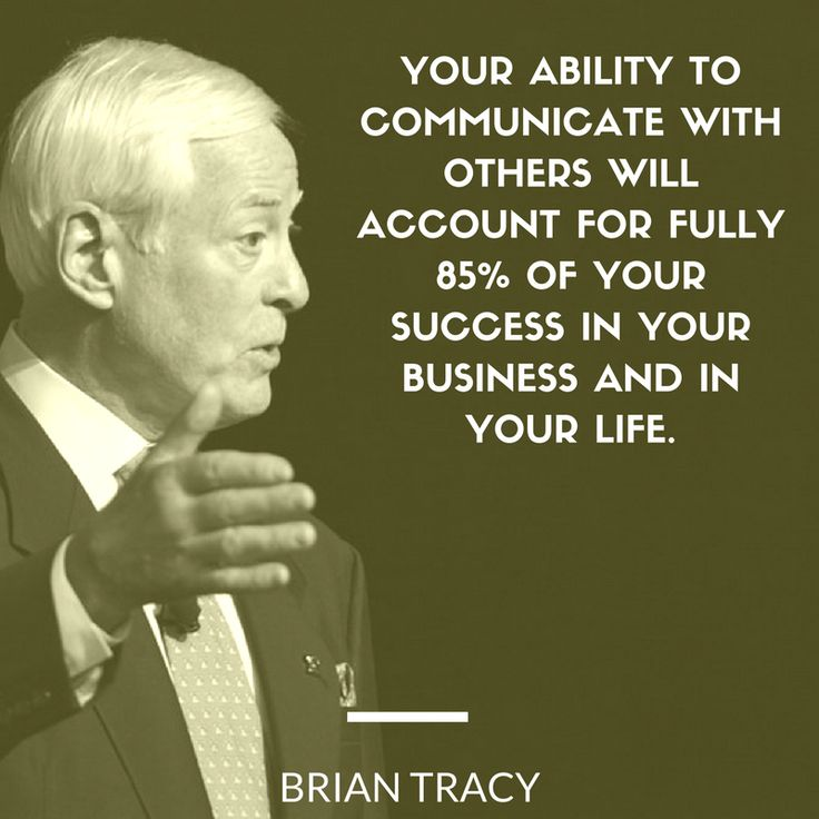 The power of communication cannot be overestimated. Your success relies on your ability to communicate.