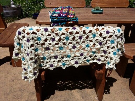 """My current """"throw"""" project....halfway through...."""