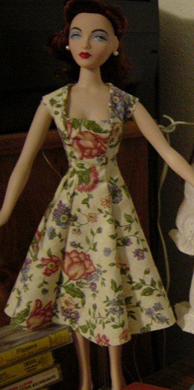 Free Gene Princess Dress Pattern - janel washere