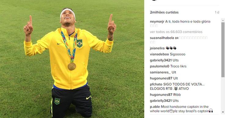 Rio 2016 é evento mais 'instagramado' da história; foto de Neymar bomba
