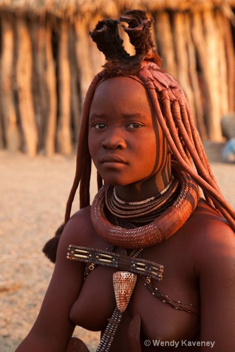 Girl himba young african tribe