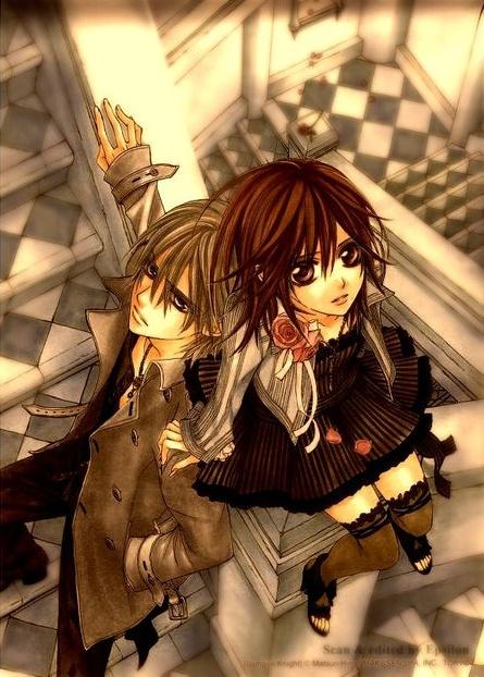 Zero and Yuuki ~ Vampire Knight