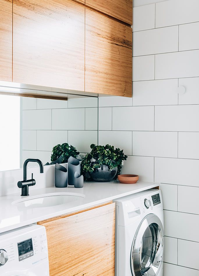 Best 25 modern laundry rooms ideas on pinterest laundry - Cuarto de lavado ...