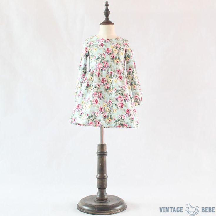 Vintage Happy Floral Dress