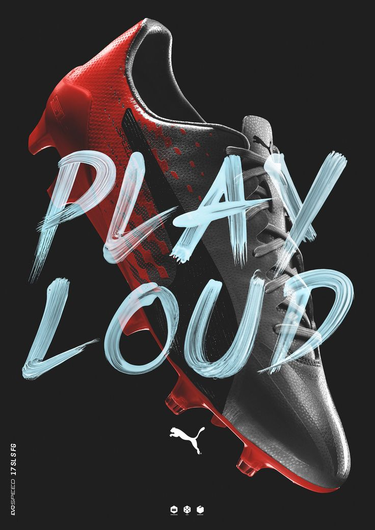 Puma Play Loud by Jeremy Haunschild https://mindsparklemag.com/design/puma-play-loud/