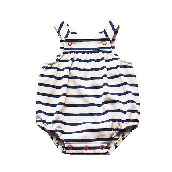 even baby gets to rock the sailor stripes look