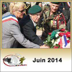 Programme des commémorations du débarquement de Normandie en juin 2014