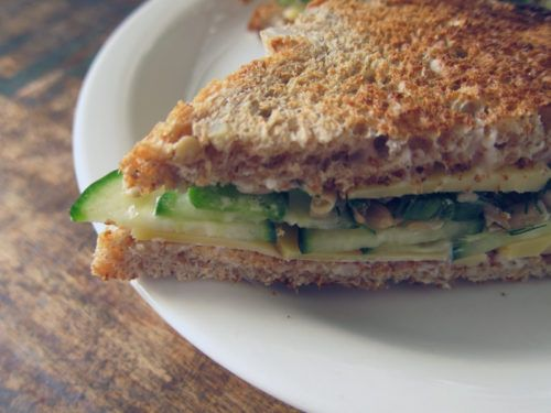 lady who lunches: the best cucumber & cheese sandwich | Everybody Likes Sandwiches