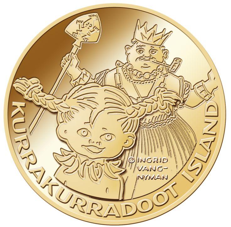 Kurrekurreduttön 3,455 gram 90 % guld