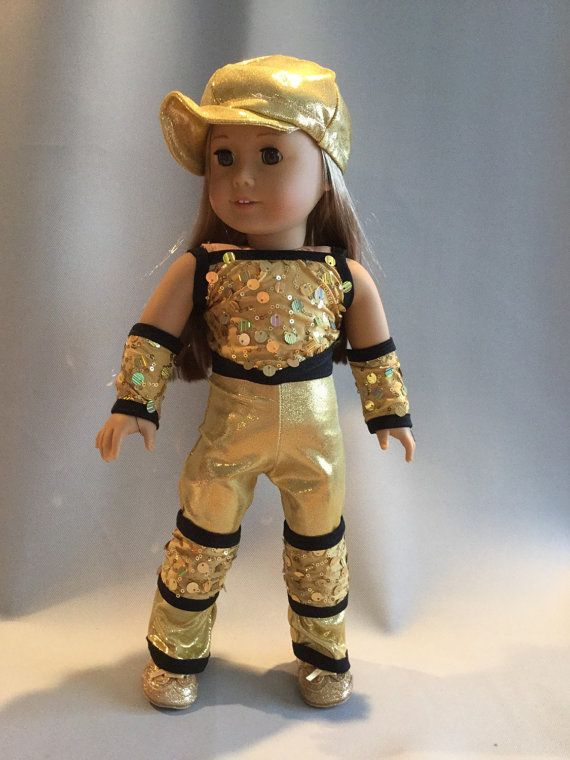 Hip hop jazz dance pageant costume for american girl 18 ...