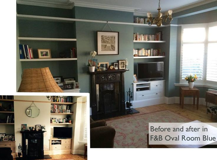 Farrow&Ball Oval Room Blue