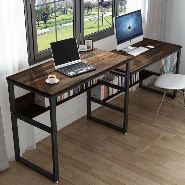 Southside Writing Desk In 2020 Credenza Desks Bookshelf Desk Home