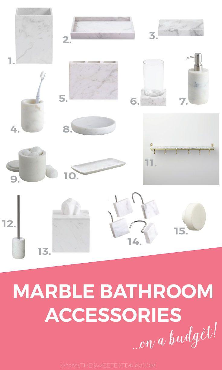 Best 25+ Marble Bathroom Accessories Ideas On Pinterest