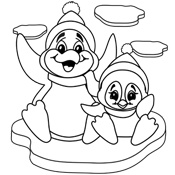 Actually decent Christmas coloring pages!