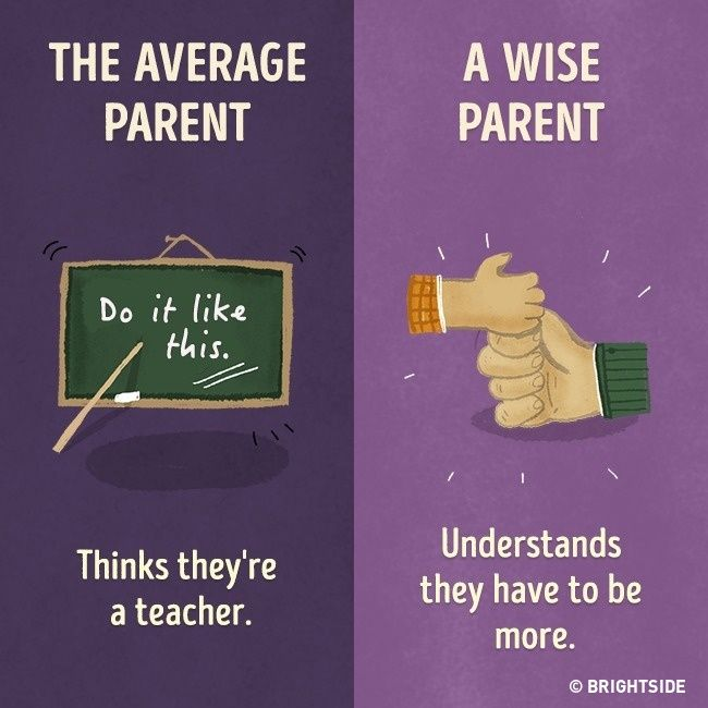 11 crucial differences between the average parent and the wise parent
