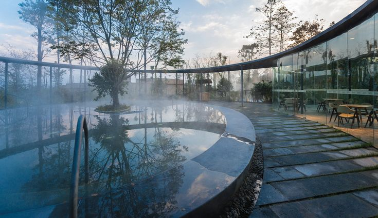The Ruff Well Water Resort in Sichuan is a masterpiece of spa architecture. It's part of Wellness by Design, a series that looks at brilliant innovations for living longer, better and happier.