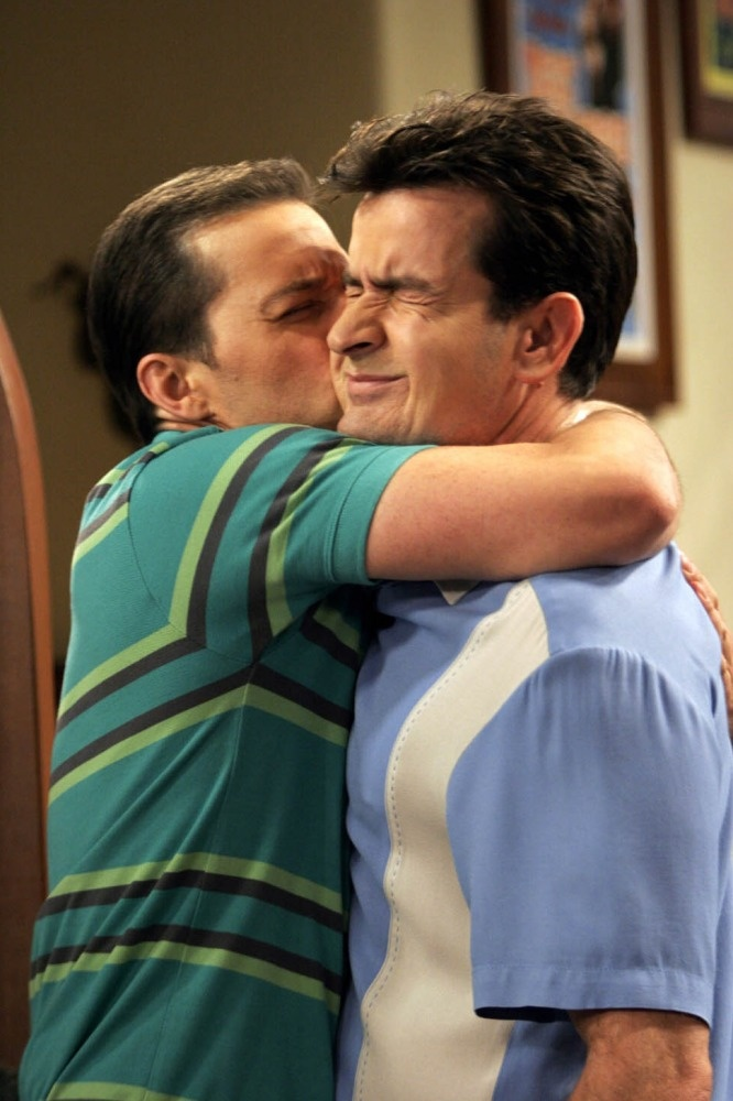 Two and a Half Men- I watched this one last night!- the love of 2 brothers... Charle and Alan Harper!!!!!