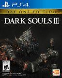 DARK SOULS III: DAY 1 EDITION – PLAYSTATION 4 UPDATED ON MARCH 2, 2016   Dark Souls III: Day 1 Edition – PlayStation 4  by BANDAI NAMCO Entertainment  Platform: PlayStation 4 Release Date: April 12, 2016  Buy new: $59.99  PlayStation 4