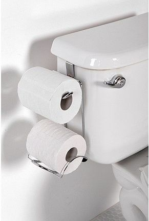 Hanging Toliet Paper Holder   Nifty Idea!