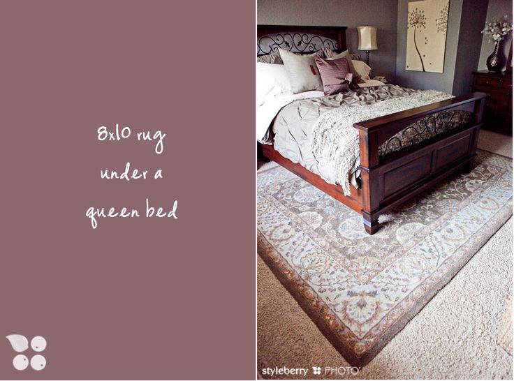 How to place a rug under a bed   Design Tip. 17 Best ideas about Rug Under Bed on Pinterest   Bedroom rugs  Rug
