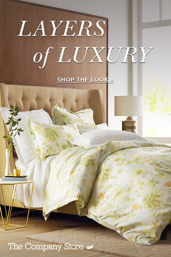 Infusing daily life with luxury, our Legends Luxury collection makes a lavish statement in your bedroom. Wrap yourself in heavenly warmth night after night for unparalleled comfort. From 600-thread count sheets to White Goose down-filled comforters, you'll be sleeping like royalty.