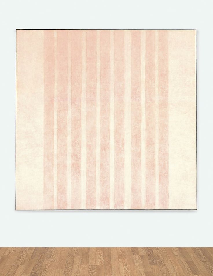 Martin, Agnes-Untitled #13, acrylic and graphite on canvas, 1975, 182,9x182,9cm