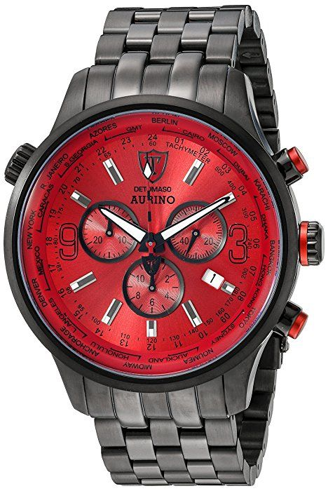DETOMASO Herren-Armbanduhr Aurino Analog Quarz DT1061-B: Amazon.de: Uhren
